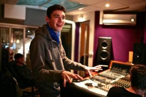 Fred en studio